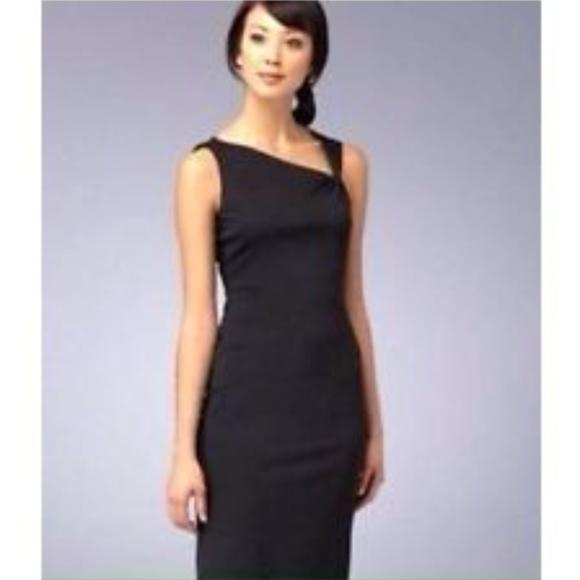 80% off David Meister Dresses Sleeveless Asymmetrical Dress B3 ...